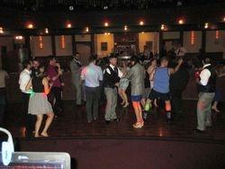 Hitting the open dance floor