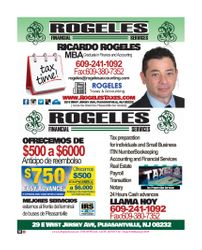 ROGELES FINANCIAL SERVICES  (The Society Page en Espanol)