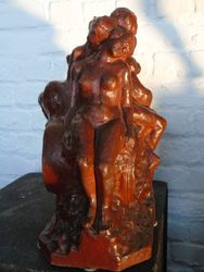 Sculpture d'Angelo Hecq