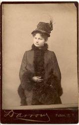 Miss Etta or Elta Boyd 1887, Newton, NJ