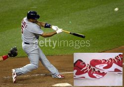ALBERT PUJOLS 2010 2011 SIGNED GAME USED NIKE CLEATS, ST LOUIS CARDINALS FULL PUJOLS LOA, MLB HOLO, PSA-400th Home Run