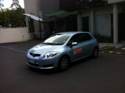 Driving School Hawthorn -Toyota Corolla Hatch -  Automatic Transmission