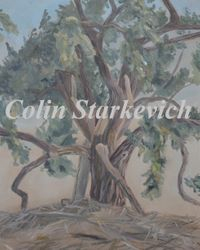 """Cottonwood Tree (30 by 24"""" oil on canvas)"""