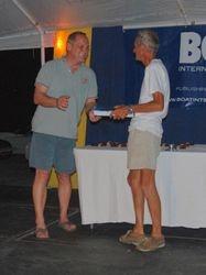 Roy receiving his Concours award