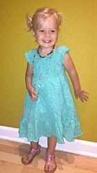 Elia is a little lady!