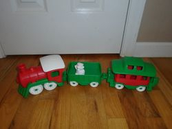 Green Toys Train- Red & Green - $10