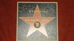 Movie Star Plaque featuring Nealie Hudson