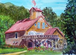 The Old Mill @ The Apple Farm (Landscape)