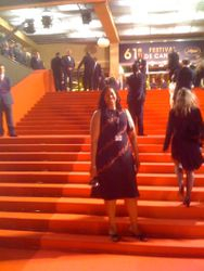Me on the Red Carpet