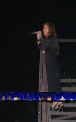 Jelena Tomasevic performing Okeani