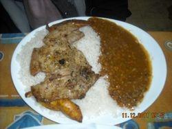 Typical Ecuadorian Dinner,