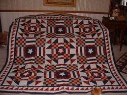 Patchwork Checkerboard Quilt