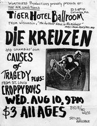 1983-08-10 Tiger Hotel Ballroom Columbia MO