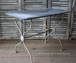 #27/000 FRENCH BRASSERIE TABLE WHITE