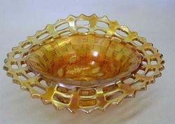 Blackberry open edge basket. JIP shape, marigold