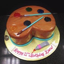 Easel Cake