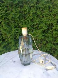 Storo stiklo vaza-lempa. Kaina 53