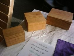 Red Oak boxes