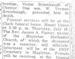 Brumbaugh, John - Part 2