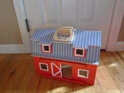 Melissa & Doug Large Fold & Go Barn - $25