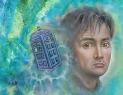 Doctor Ten and the Tardis