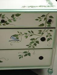 antique dresser-