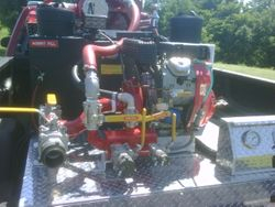 Skid Unit on Brush Truck 1208/9171