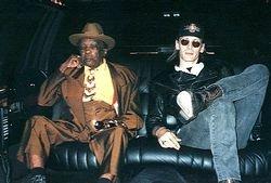 Cruising through Redwood City with John Lee Hooker  - 1996