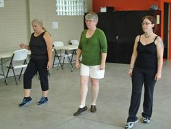 Wednesday dance class