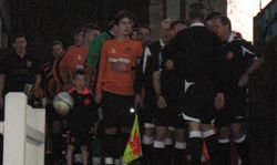 Referees bring out teams