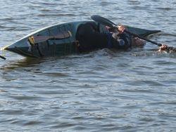 Sculling brace - Occoquan Reservoir
