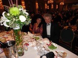 Alexis und Cristina Hauser beim Wiener Ball in Montreal, Nov. 2013