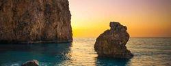 Milos beach, Lefkada, Ionian sea