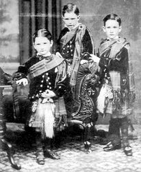 Jock's grandsons