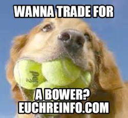 Wanna trade for a bower?