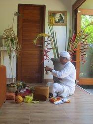Tri Sandhya Villa blessing