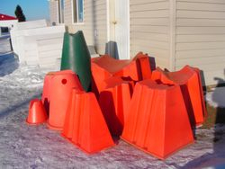 Pipecone Stands