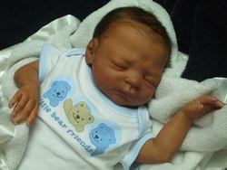 In his cute onesie