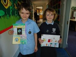 Winners of our Fairtrade poster competition!