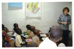 Teaching Bible in School, Eldoret, Kenya