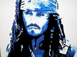 CAPTAIN JACK SPARROW - BLUE