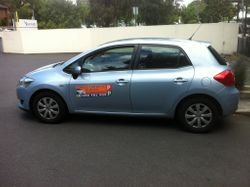 Driving School Carlton - Toyota Corolla Hatch -  Automatic Transmission