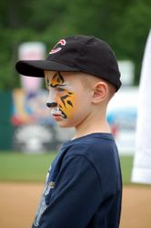Face painting for donations to ATS