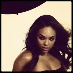 "Demetria McKinney Behind The Scenes Photoshoot For The ""F.O.C.U.S 4 Life"" Campaign"