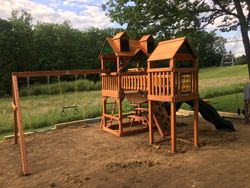 Gorilla playsets wilderness assembly in gaithersburg Maryland