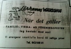 Lerhamns vardshus 1966