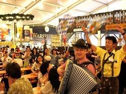 Woho & Kalendar Band Yokohama Oktoberfest 2013
