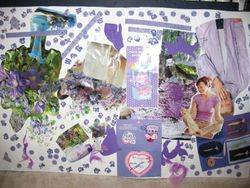 Our Purple Collage