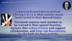 Help your Team Succeed by starting with Clarity