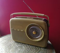 Vintazinio stiliaus Radio BUSH. Kaina 52
